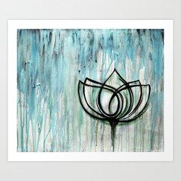 Lotus Tattoo Art Print