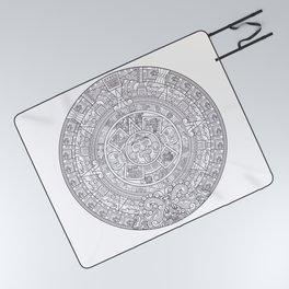 Sun Stone Picnic Blanket