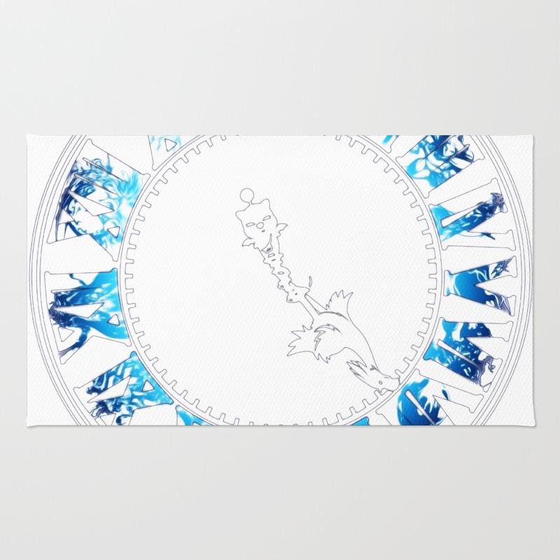 Final Fantasy - Final Hour (blue) Rug by Thadesign RUG8975200