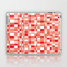 Mod Gingham - Red Laptop & iPad Skin
