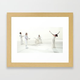 The Killing Type #1  (amanda palmer & the grand theft orchestra) Framed Art Print