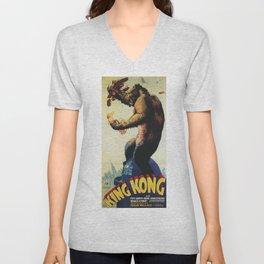 King Kong 1933 Unisex V-Neck