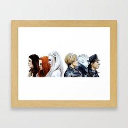 Let Us Be Strong Framed Art Print