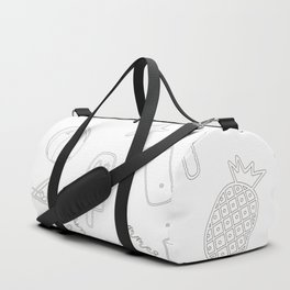 Summer Icon Pattern Duffle Bag