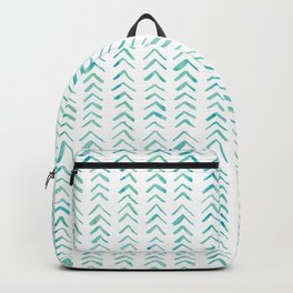 Arrow up aquatica pattern Backpack
