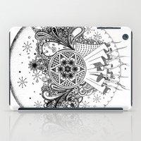 zentangle iPad Cases featuring Zentangle by Alex Vladoiu