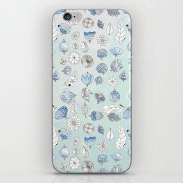 Azul iPhone Skin