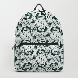 Wrapped in White Backpack