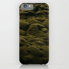Icelandic Moss Texture iPhone Case