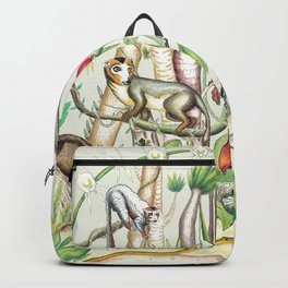 Endemic Species of Madagascar Backpack