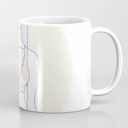 Peach Bralette Babe Coffee Mug
