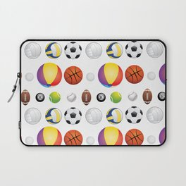 Sport Balls Laptop Sleeve