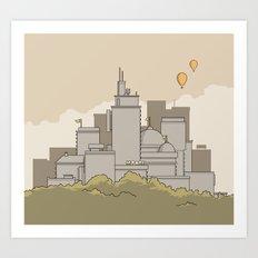 Moore's Big City Art Print