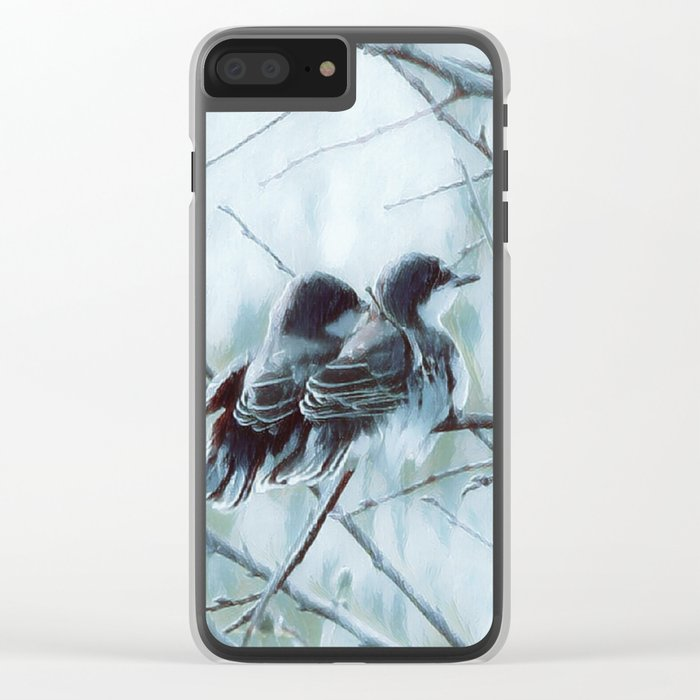 Side by Side Clear iPhone Case