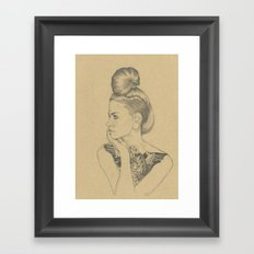 MARTINA Framed Art Print