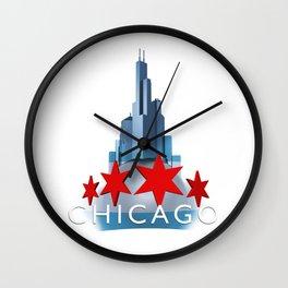 The Windy City Wall Clock