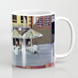 Frankfurt Germany Old Town – Acrylic Painting Coffee Mug