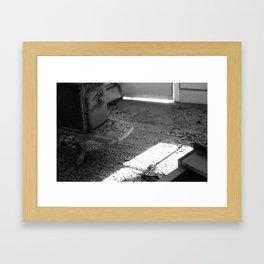 Crumbled Foundation Framed Art Print