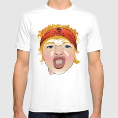 A Little Angry Person Mens Fitted Tee MEDIUM White
