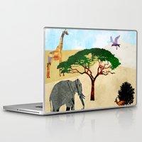 safari Laptop & iPad Skins featuring Safari by Design4u Studio