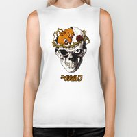 berserk Biker Tanks featuring Skull Knight by MOLTA