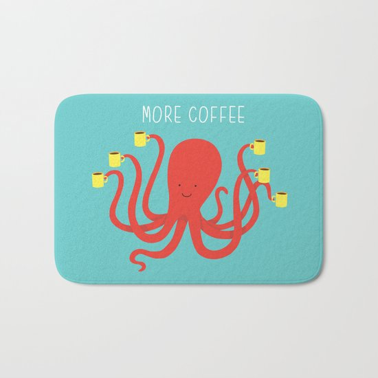 more coffee... Bath Mat