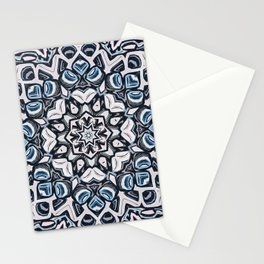 Textured Kaleidoscope Stationery Cards