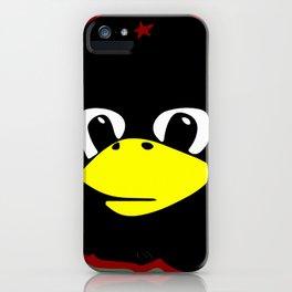 Linux tux Penguin Che guevara guerilla iPhone Case