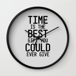 Gift of Time Wall Clock