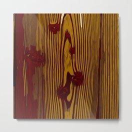 Wood Print Wood Texture  Metal Print