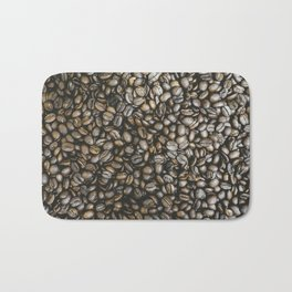 Coffee beans in Colombia Bath Mat
