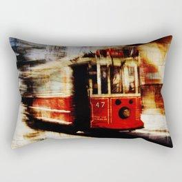 urban tramway Rectangular Pillow