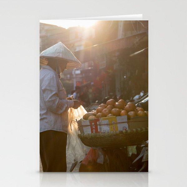 Vietnam Streets Stationery Cards