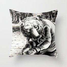 Oso / Bear Throw Pillow