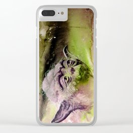 YODA - portrait Clear iPhone Case