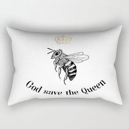 God save the Queen Rectangular Pillow