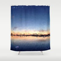 skyline Shower Curtains featuring Skyline by kelly*n photography