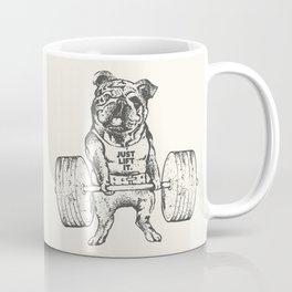 English Bulldog Lift Coffee Mug