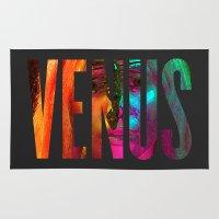 venus Area & Throw Rugs featuring Venus by Greg21