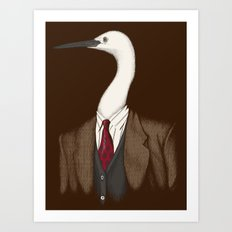 Crane Clothier Co. (no text) Art Print