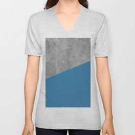 Geometry 101 Saltwater Taffy Teal Unisex V-Neck