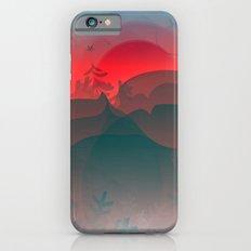 Winter Sunset Slim Case iPhone 6s
