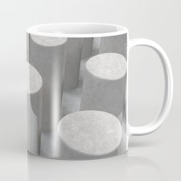 Concrete with cylinders Coffee Mug