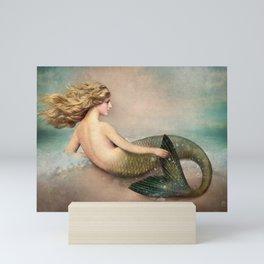 Her Ocean Mini Art Print