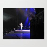 dave matthews Canvas Prints featuring Dave Matthews Band - Virginia Beach by Hum Chee