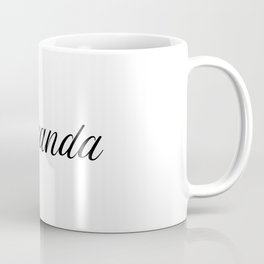 Name Miranda Coffee Mug