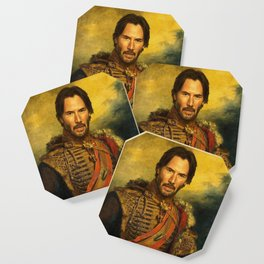 Keanu Reeves - replaceface Coaster