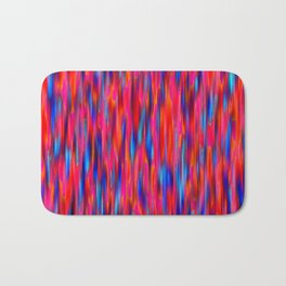 primary verticals pink Bath Mat