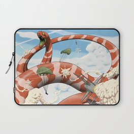 Attack of the Giant Muraena Laptop Sleeve