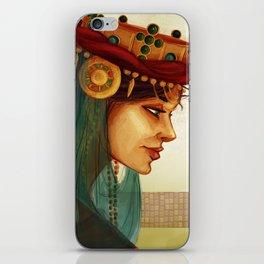 Sibylla, Queen of Jerusalem iPhone Skin